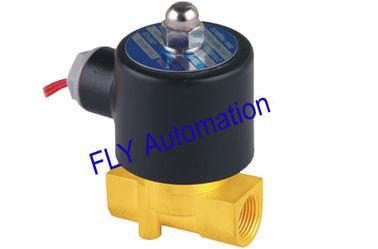 China Öffnung Unid 24V 4.0mm 2 Weisen-Messingwasser-Magnetventile 2W040-10 fournisseur