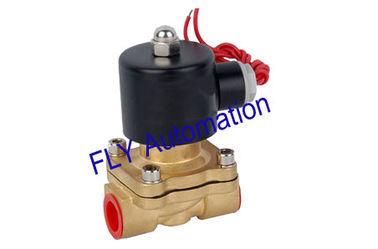 China 16 mm Nennweite Unid 2 Wege Messing Wasser Magnetventile Druck 2W160-15 fournisseur