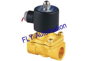 China 20 mm Öffnung Unid 2 Weg Messing Wasser Magnetventile Ventile Ersatz 2W200-20 fournisseur
