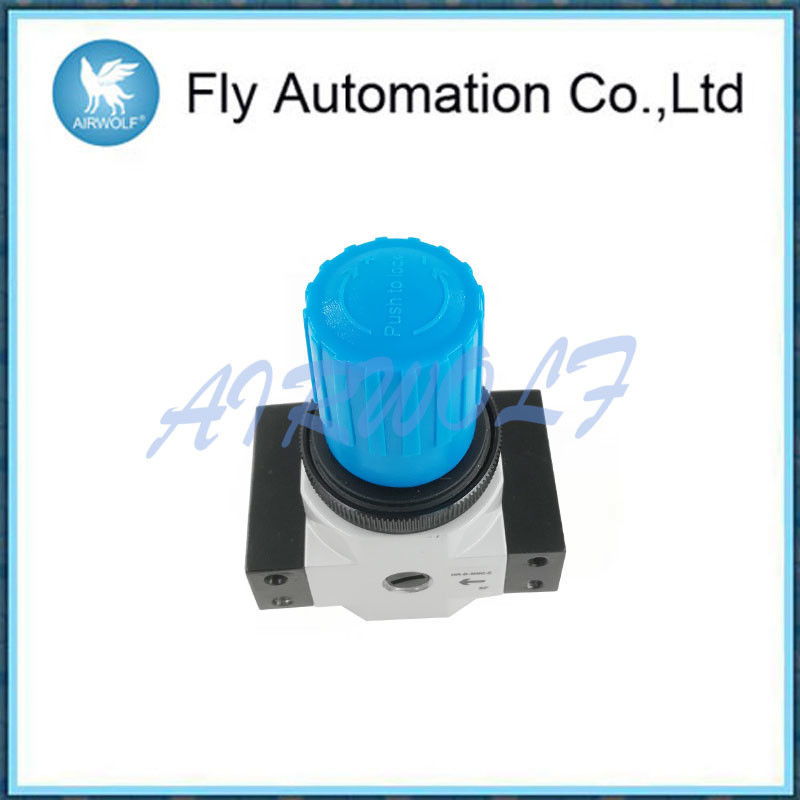 G1/4 Air Preparation Units With Secondary Venting Aluminum Blue Rotary Knob