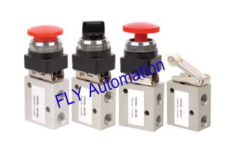 "3/2 way Shako Mechanical Pneumatic Manual Valves 1/4"",JM-05,JM-06,JM-06A,JM-07"