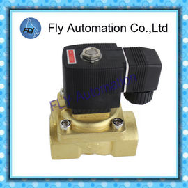 China Messing 5404 2/2 Weisen-Magnetventil mit Kolben Hochdruck-DN20 DN25 distributeur