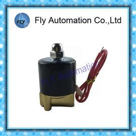 China Unmittelbare Magnetventile des Wasser-IP65 mit NBR PTFE setzen Dichtung, Arbeitszyklus Dauerleistung 100% distributeur