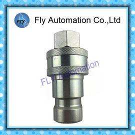 China Universeller Zweck Ärmel-Tellerventil Reihe B der 60 Reihen-ISO7241-1 manuelle hydraulische schnelle Koppelungen distributeur