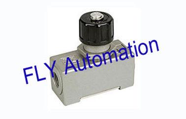 China Weisen-pneumatische Luftstromregelungs-Steuerventil-Aluminiumlegierung der Gewohnheits-AS-02 eins distributeur